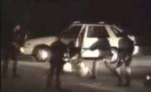 Video of the Rodney King beating, 1991