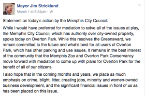 Via the Mayor's Facebook Page - Click to view the post